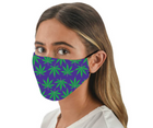 Snoozies Fashion Face Coverings (Mask) Pot Leaves Print with Filter - Southern Agriculture