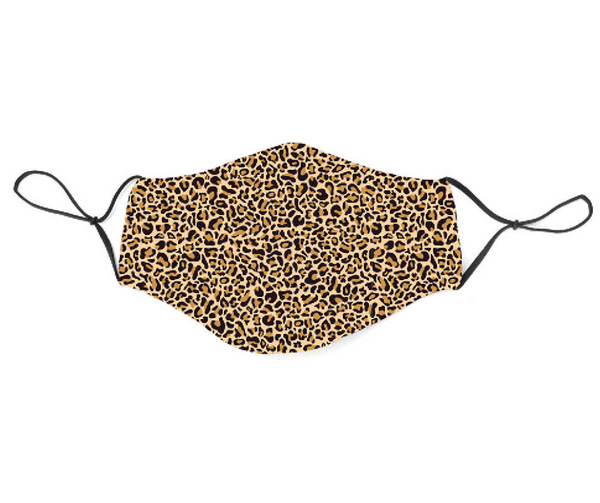 Snoozies Fashion Face Coverings (Mask) Leopard - Southern Agriculture