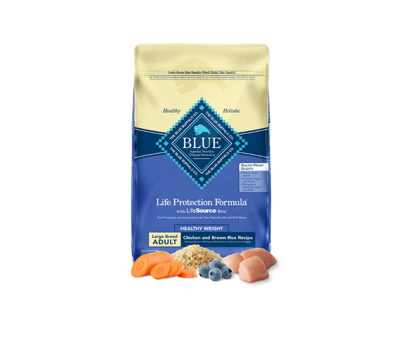 Blue Buffalo Life Protection Formula - Large Breed, Adult Dog Healthy Weight Chicken and Brown Rice Recipe - Southern Agriculture