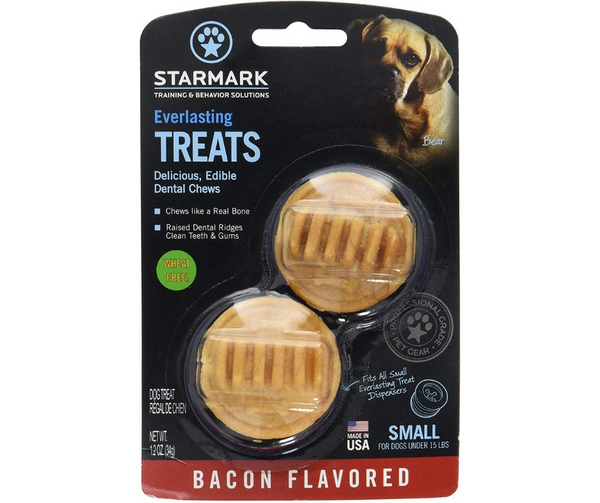 Starmark Everlasting Bacon Dog Dental Chew