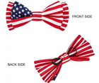 National Pride American Flag Bowtie Dog Collar by Blueberry Pet - Southern Agriculture