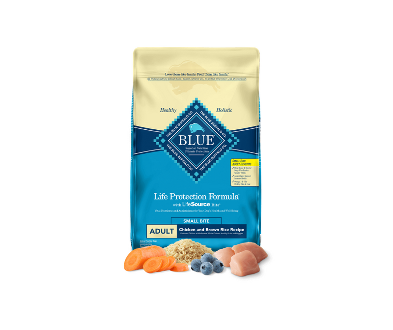 Blue Buffalo Life Protection Formula - Small Bites, Adult Dog. Small Bite Chicken and Brown Rice Recipe - Southern Agriculture