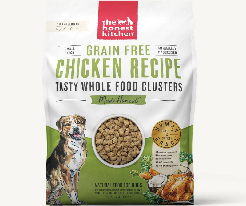 The Honest Kitchen Whole Food Clusters - Grain Free Chicken Dog Food - Southern Agriculture