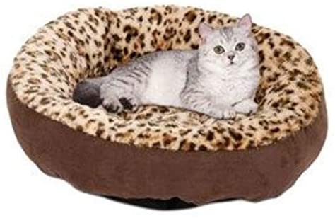 "Aspen Pet Round Bed Animal Print, 18"" - Southern Agriculture"