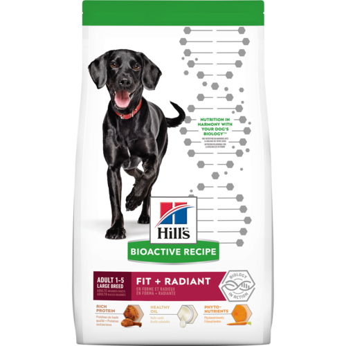 Hill's® Bioactive Recipe Adult Large Breed Fit + Radiant Dry Dog Food 22.5 lb. - Southern Agriculture