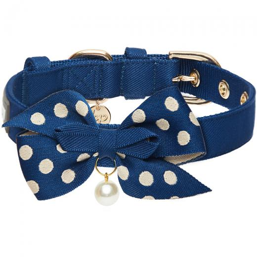 The Most Coveted Dog Collar with Dotty Bowtie & Pearl by Blueberry Pet - Southern Agriculture