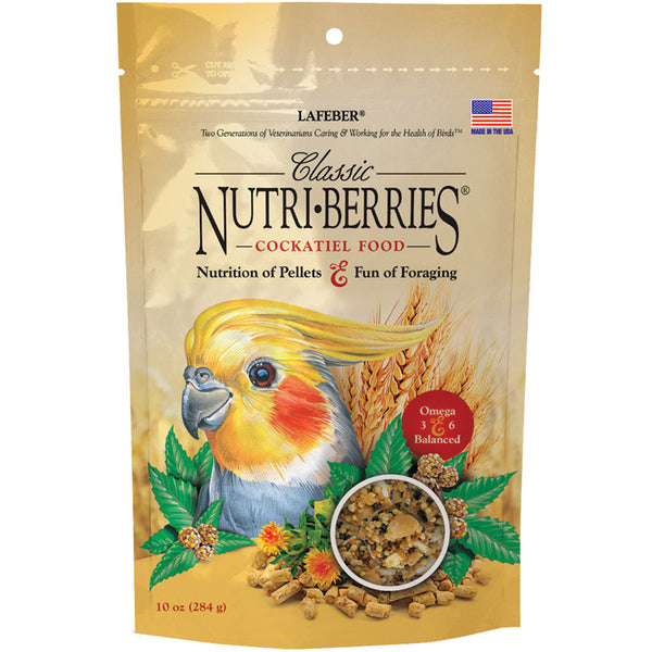 Nutri- Berries Cockatiel Food by Lafeber's 10oz - Southern Agriculture
