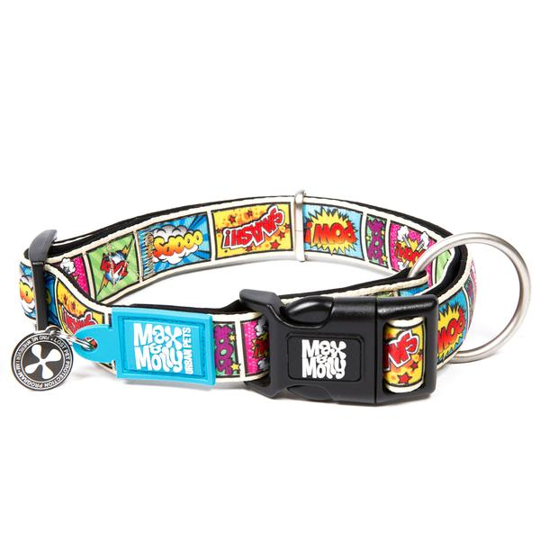 Max and Molly Smart ID Comic Collar - Southern Agriculture