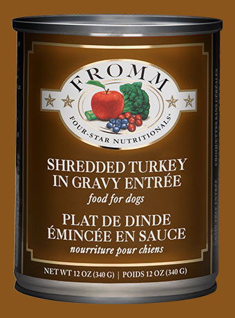 Fromm Four Star Shredded Turkey - Southern Agriculture