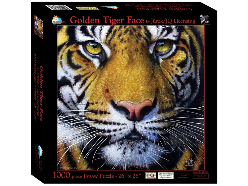 Golden Face Tiger Puzzle by Sunsout - Southern Agriculture