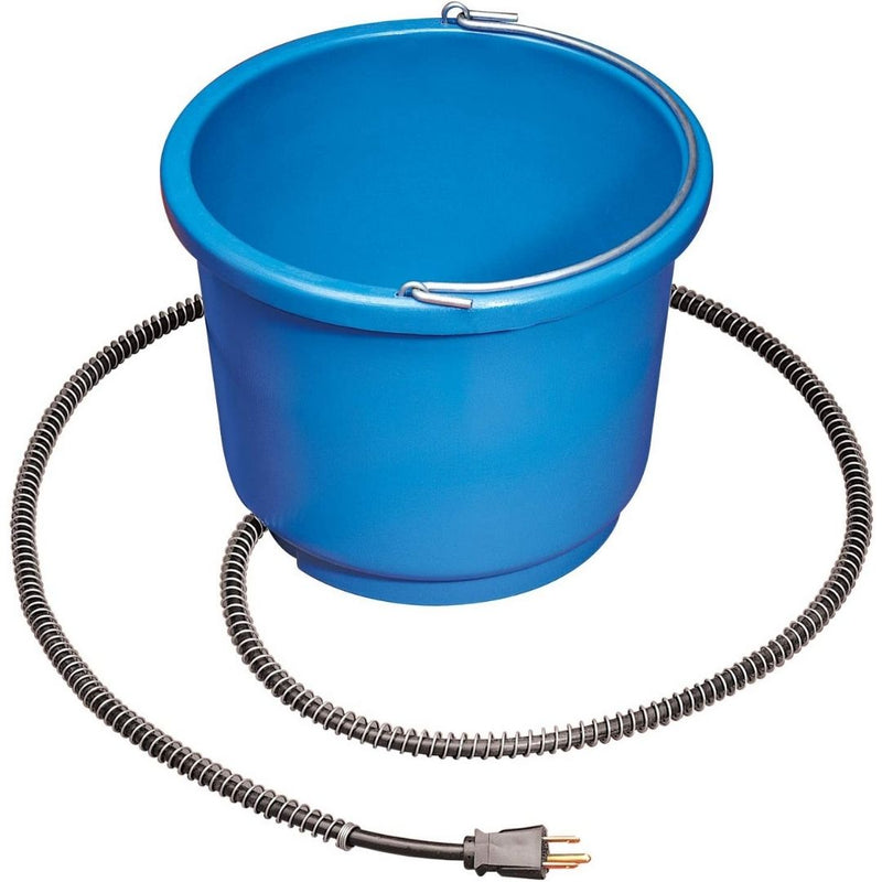 Heated Round Bucket, 9 Quart