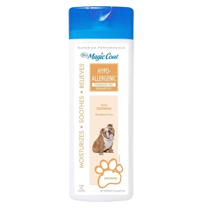 Magic Coat Unscented Hypoallergenic Dog Shampoo