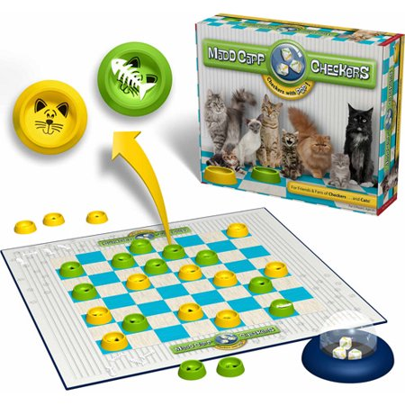 Madd Capp Checkers Cat Lovers Edition - Southern Agriculture