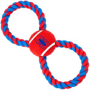 Figure 8 Tug With Spider-Man Dog Toy - Southern Agriculture