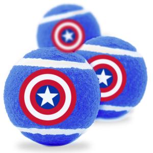Captain America Shield Tennis Balls - Southern Agriculture