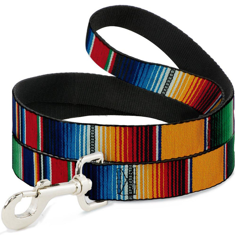 Raindow dog Lead By Buckle Down Dog 1 Inch x 6 Foot - Southern Agriculture
