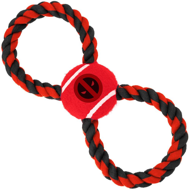 Figure 8 Tug With Deadpool Dog Toy - Southern Agriculture