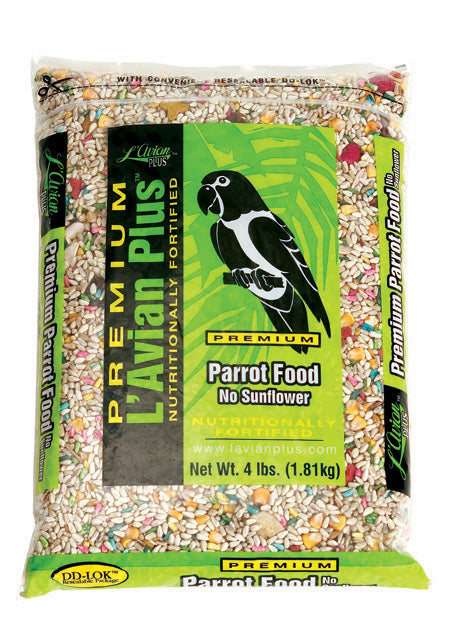 L'Avian Premium Parrot Food No Sunflower - Southern Agriculture