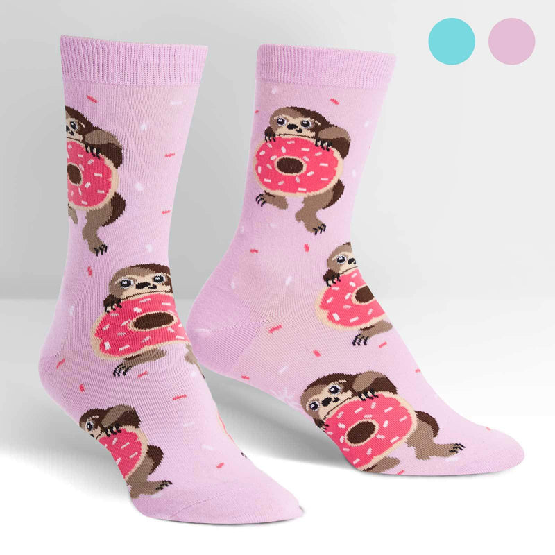 Socks Snackin' Sloth by Sock It to Me - Southern Agriculture