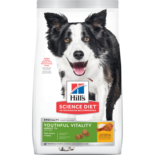 Hill's® Science Diet® Youthful Vitality Adult 7+ Chicken & Rice Recipe Dry Dog Food - Southern Agriculture