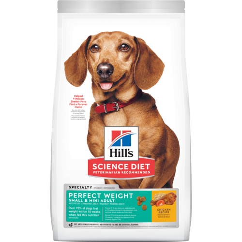 Hill's Science Diet Perfect Weight Small & Mini Adult Dry Dog Food - Southern Agriculture