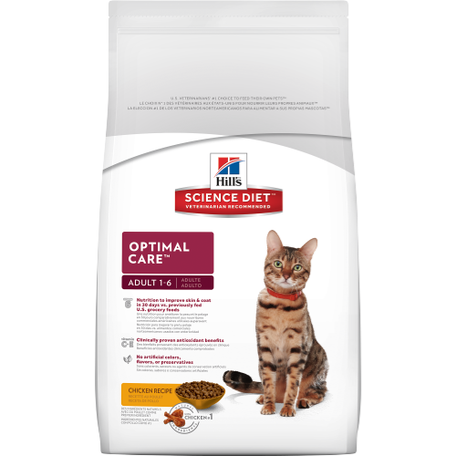 Hill's Science Diet Adult Optimal Care Original Dry Cat Food - Southern Agriculture