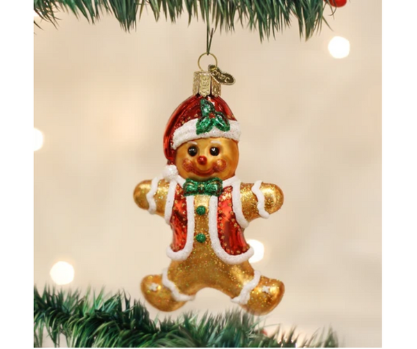 Old World Christmas Gingerbread Boy Ornament
