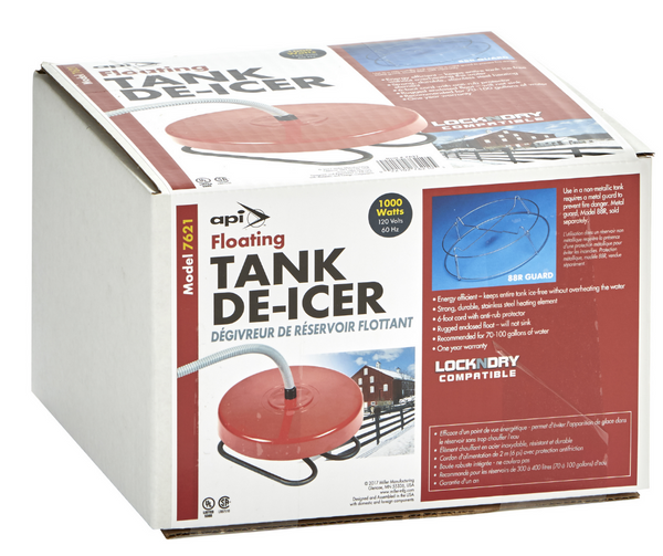 Floating Stock Tank De-Icer By API Model 7621