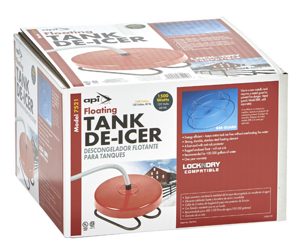 Floating Tank De-Icer 1500 Watts By API Model 7521