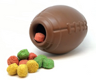 MBK Football Dog Chew Toy With Treat Insert