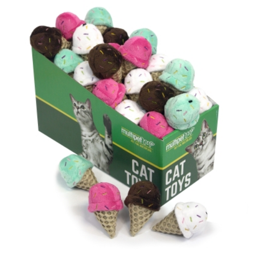Ice Cream Cat Toy