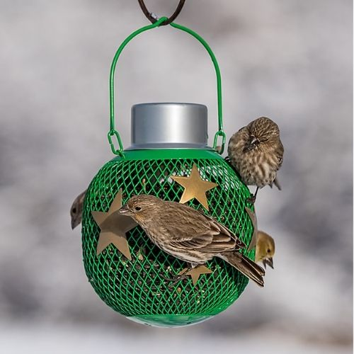 Perky Pet Holiday Solar Seed Ball Bird Feeder
