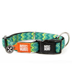Max and Molly Smart ID Vintage Green Zig Zag Collar - Southern Agriculture