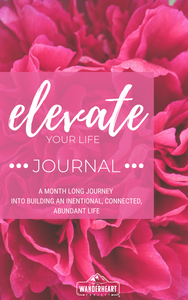 30 Day Challenge Journal (Floral)