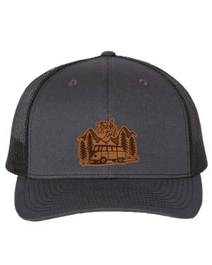 Trek Over Tech Leather Patch Hat