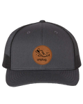 Running Leather Patch Hat