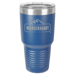 The Wanderheart Project Logo Premium 30 oz. Tumbler