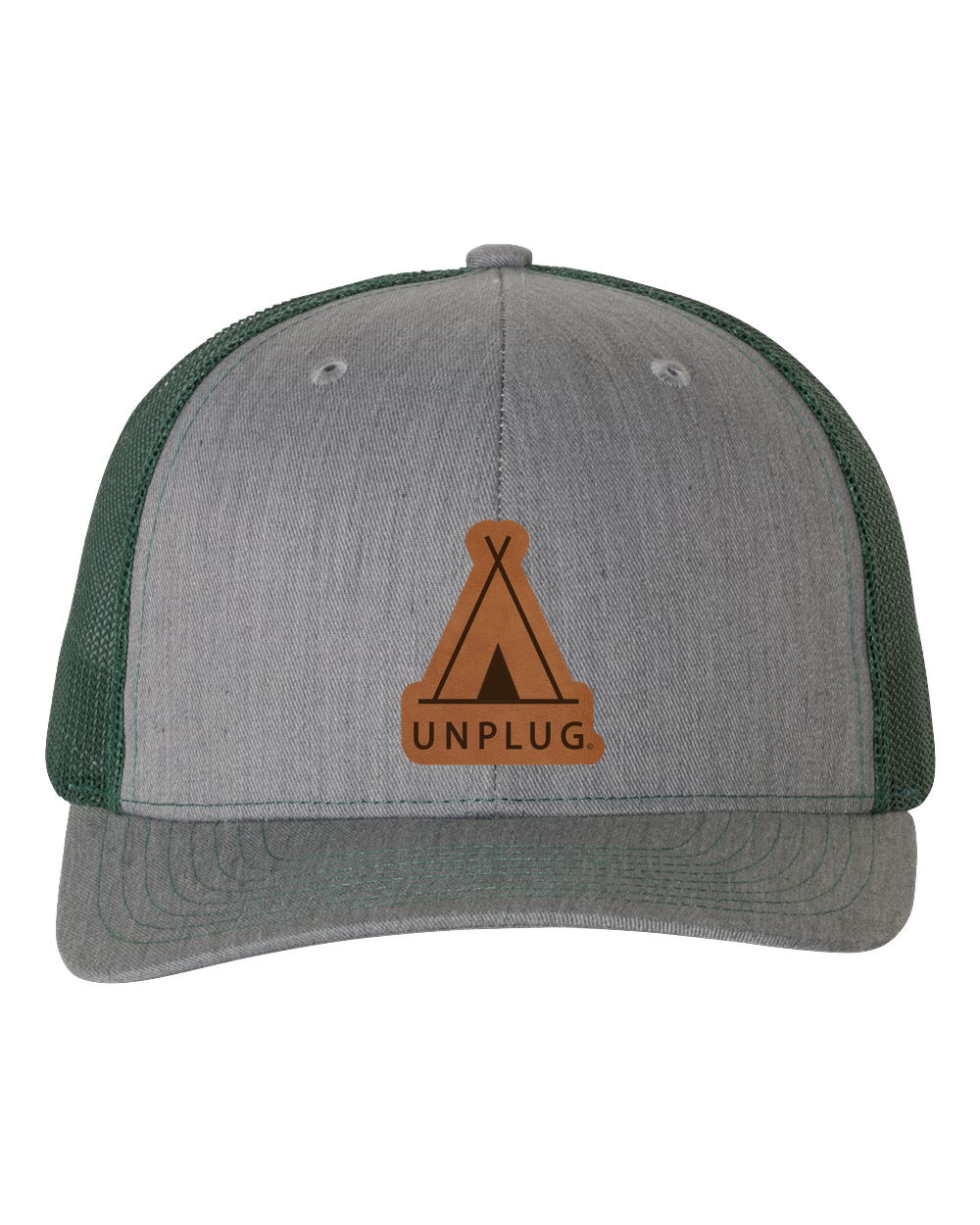 Teepee Leather Patch Hat