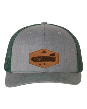 Stand Up Paddle Board Leather Patch Hat