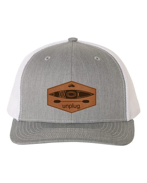 Kayak Leather Patch Hat
