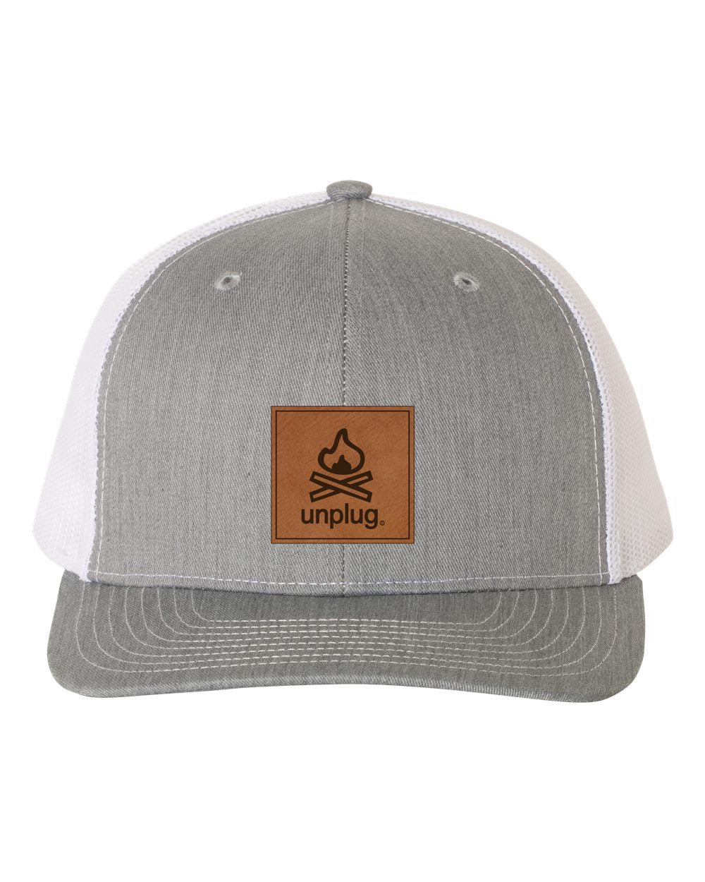 Campfire Leather Patch Hat