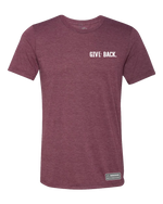 GIVE BACK. Premium Triblend T-Shirt
