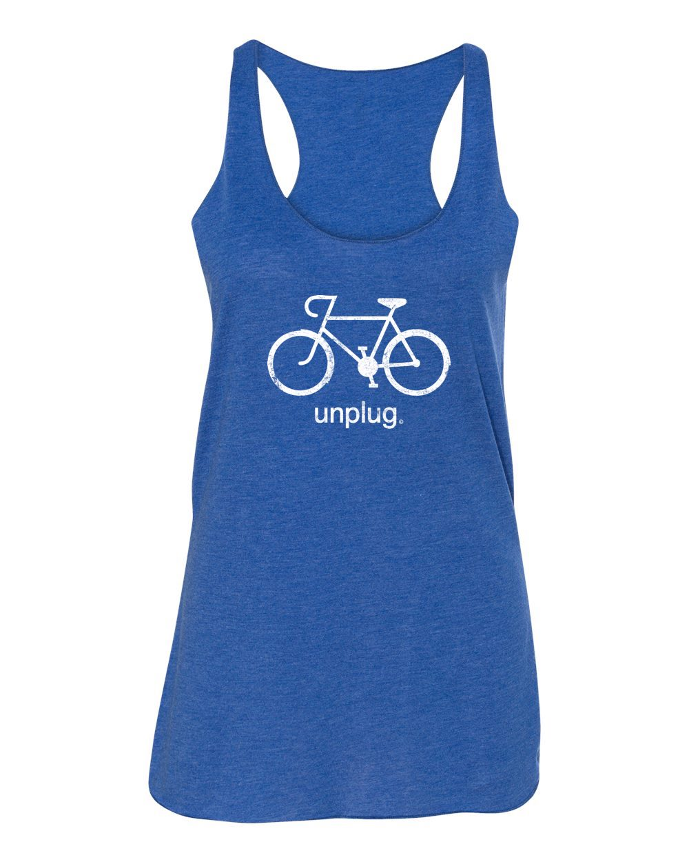 Road Bike Premium Triblend Tank