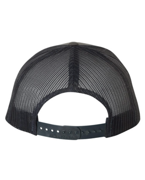 Be Present Mountain Leather Patch Hat