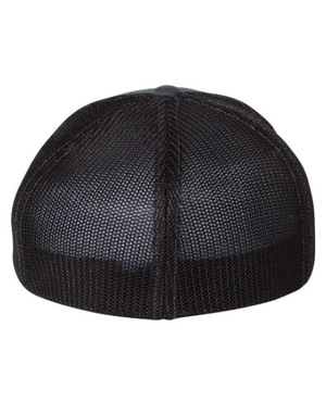 GIVE BACK. Leather Patch Hat