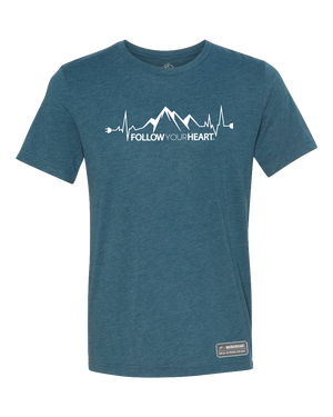 Follow Your Heart Premium Triblend T-Shirt