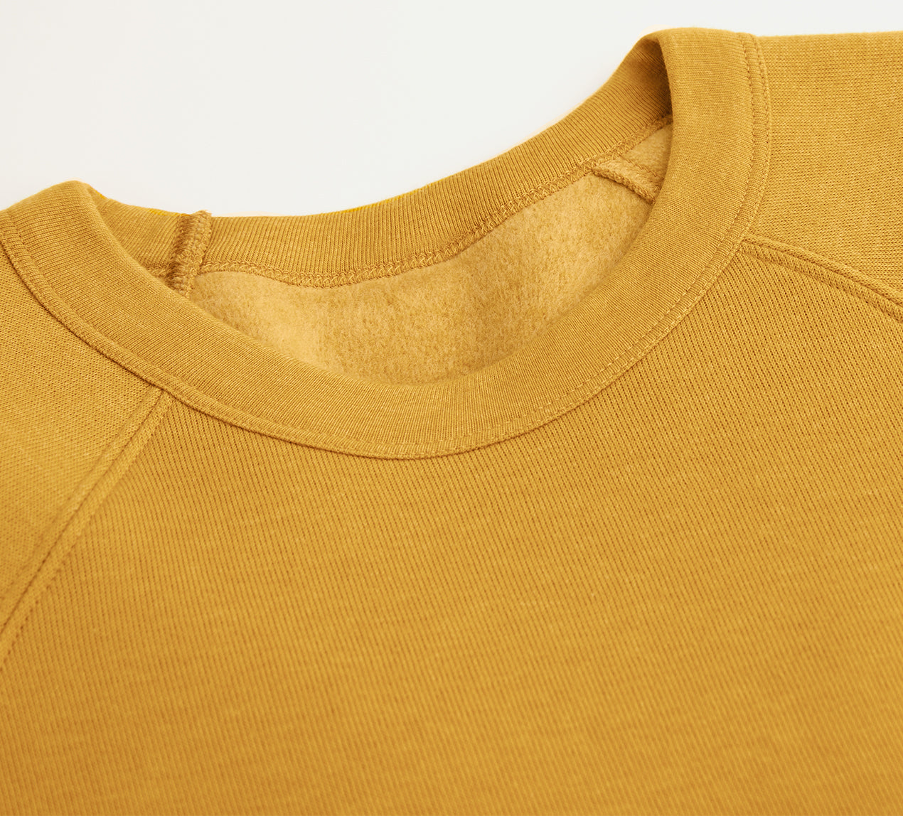 Yellow Bella Canvas Raglan Sweatshirt