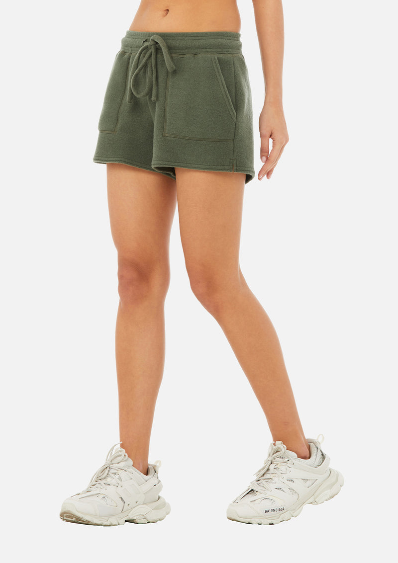 The Sueded Lounge Short