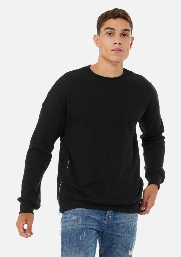 The Side Zip Sweatshirt