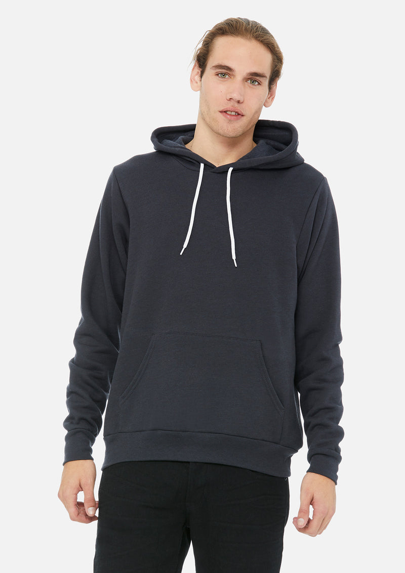 mens original hoodie dark grey